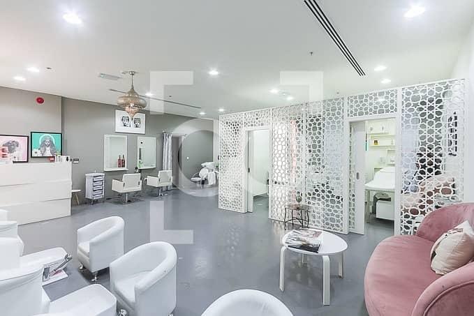 Profitable beauty salon in Al Barsha available for sale