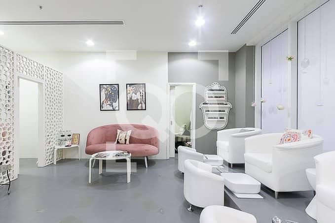 2 Profitable beauty salon in Al Barsha available for sale