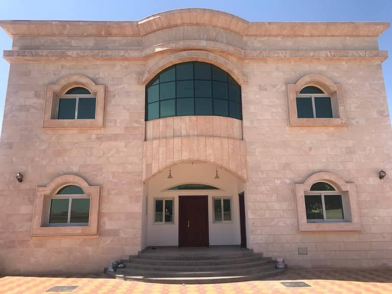 New villa from the outside stone in Alash