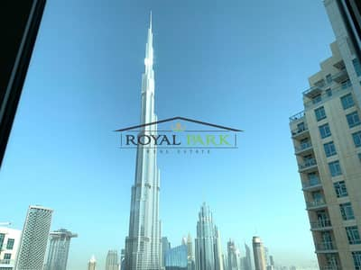 Burj view 3Bedroom+maids burj residence downtown