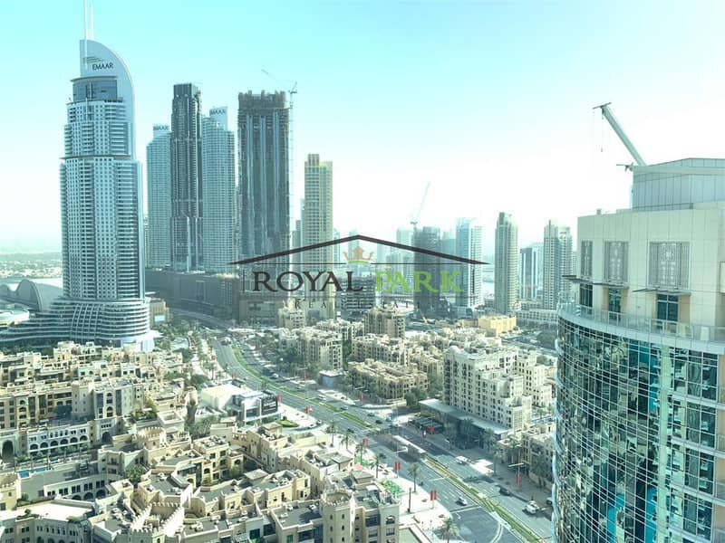 13 Burj view 3Bedroom+maids burj residence downtown