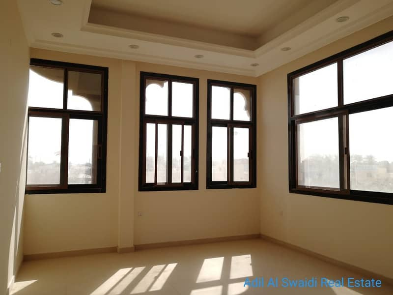 Br. New 5 BHK VIlla with all master room. majlis, living dining, maidroom, C. a/c , covd parking
