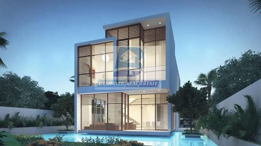 5 Bedroom Villa for Sale in DAMAC Hills (Akoya by DAMAC), Dubai - Cheapest Villa with GULF VIEW  Pay Only 100