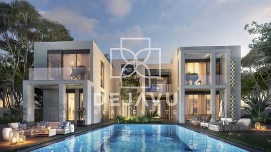 6 Bedroom Villa for Sale in Dubai Hills Estate, Dubai - Luxury 6 Bed Golf Mansions   Only 40 Units