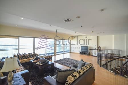 5 Bedroom Penthouse for Sale in Jumeirah Lake Towers (JLT), Dubai - Exclusive Duplex Penthouse Panoramic View