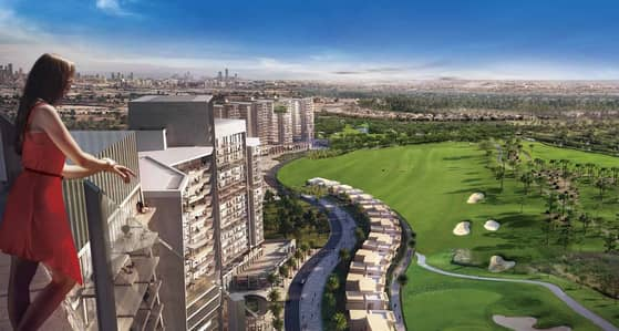 Studio for Sale in DAMAC Hills (Akoya by DAMAC), Dubai - 5 Years Payment Plan | Furnished Artesia