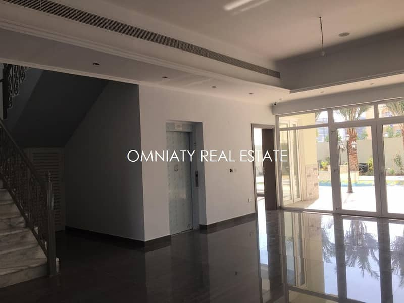 BRAND NEW elegant villa of 5BR villa with pool and garden for rent in Barsha South 2