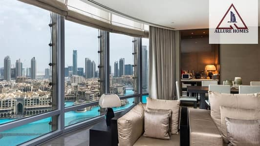 3 Bedroom Apartment for Sale in Downtown Dubai, Dubai - DREAM APT / DIRECT BURJ KHALIFA & FOUNTAIN VIEWS FROM EMAAR / 5 % BOOKING / 50% COMPLETION