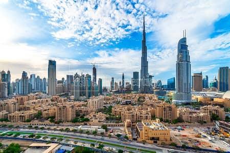 2 Bedroom Apartment for Sale in Downtown Dubai, Dubai - Vacant 2Bed | Mid floor | B.Khalifa View