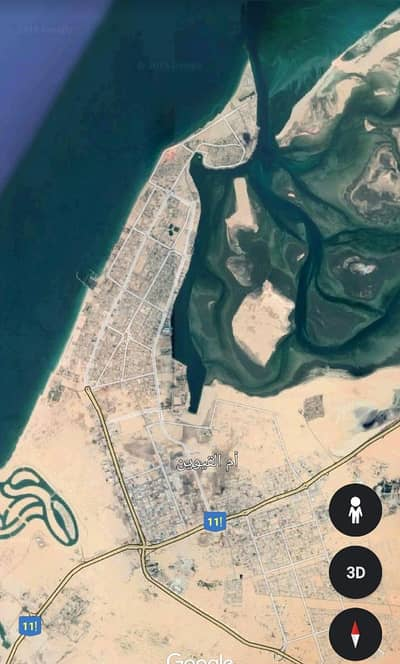 Plot for Sale in King Faisal Street, Umm Al Quwain - For sale commercial land area of 20000 thousand square feet on King Faisal Street