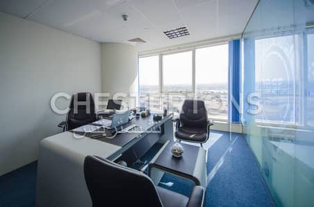 Investors deal Fully furnished | Fitted glass partition