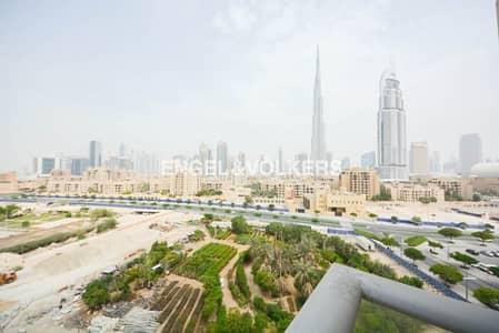 شقة 2 غرفة نوم للايجار في وسط مدينة دبي، دبي - Two Bed | Burj View A |Burj Khalifa View