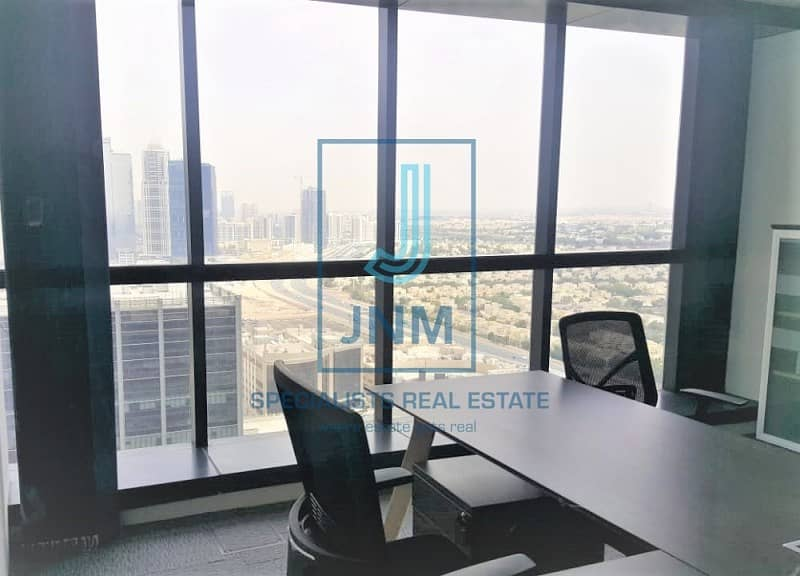 Office Space With 1 Glass Partition In JBC1