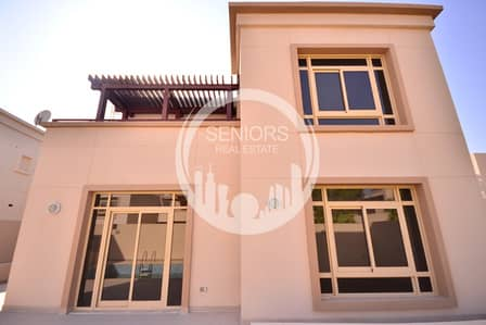5 Bedroom Villa for Sale in Al Raha Golf Gardens, Abu Dhabi - Amazing 5 BR Villa in Narjis Golf Gardens