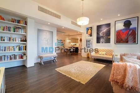 3 Bedroom Apartment for Sale in Al Sufouh, Dubai - Spacious large upgraded 3bedrooms