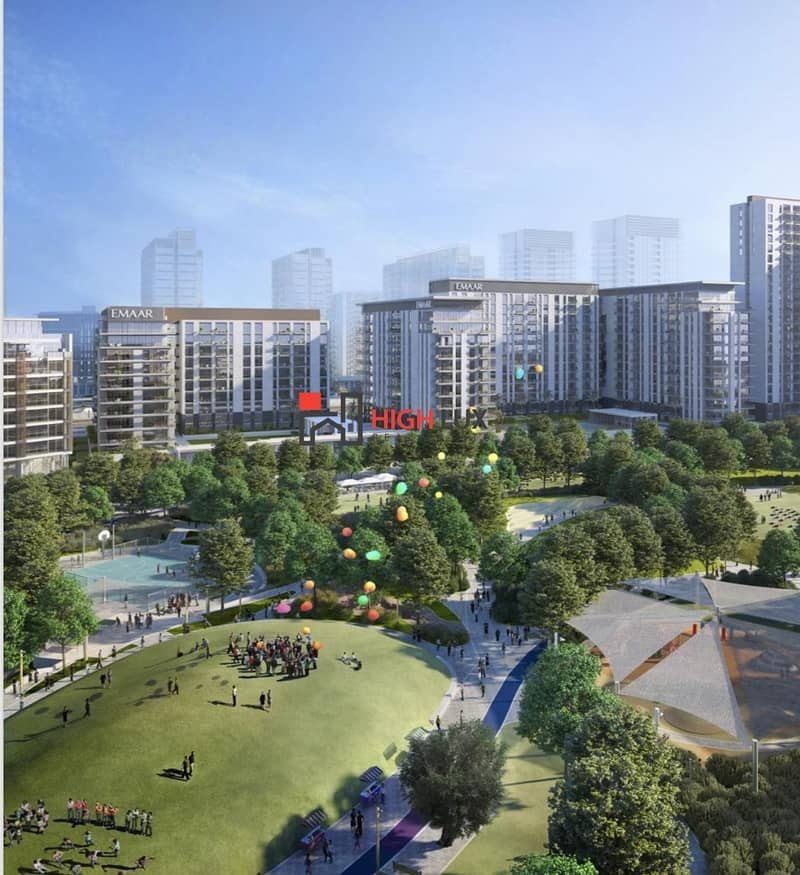 A splendor Park View Apartment for sale in Executive Residences located at Dubai Hills Estate by Emaar