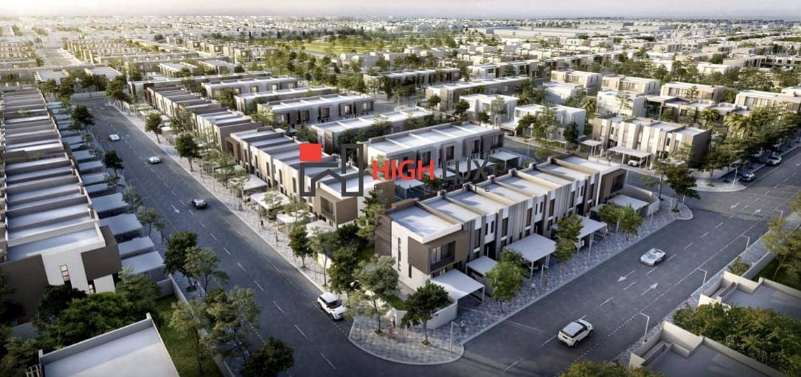 2 Nasma Residences 2 & 3 BHK spacious town houses in New Sharjah by Arada developments for your deluxe living