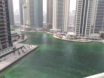 1 Bedroom Flat for Rent in Jumeirah Lake Towers (JLT), Dubai - Full Lake view - With Balcony-1 Bedroom-Lake shore Tower at JLT