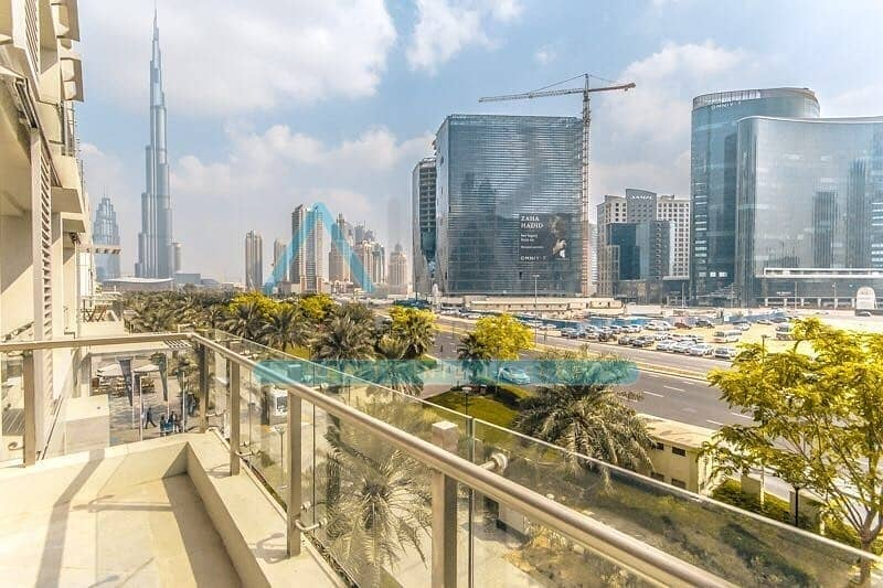 2 Podium Villa | 4 BR Duplex | Burj View