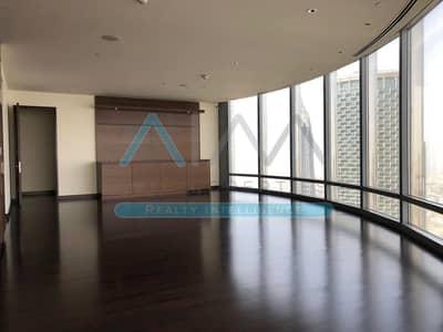 3 Bedroom Flat for Rent in Downtown Dubai, Dubai - Huge 3 BR+Maid | Stunning | Burj Khalifa