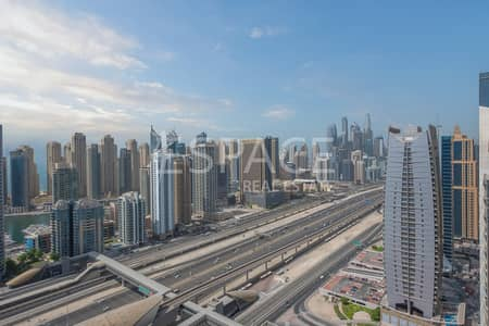 3 Bedroom Flat for Sale in Jumeirah Lake Towers (JLT), Dubai - Extended Balcony | 3 Bed | Panoramic View