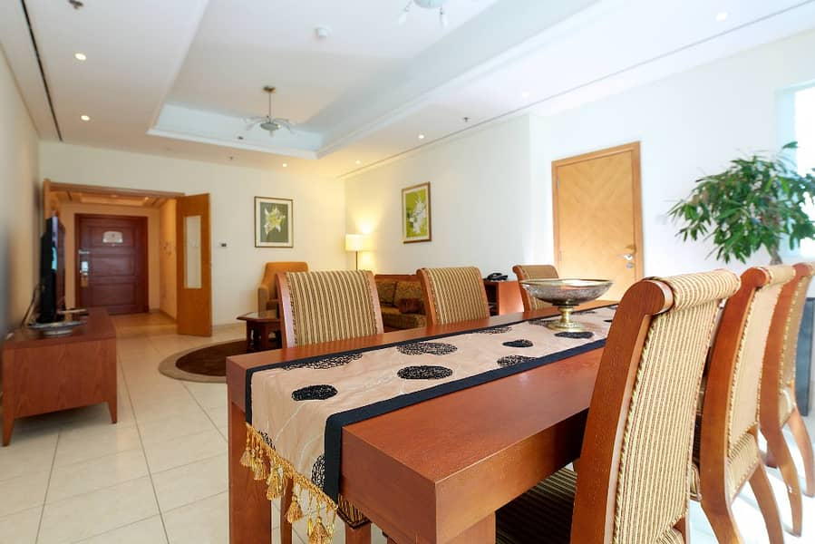 Special Price Furnished 2 Bed in Tamani Hotel Dubai Marina. .