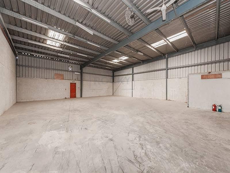 2 800 Sq. Ft. Warehouse Available in Al Rashidiya