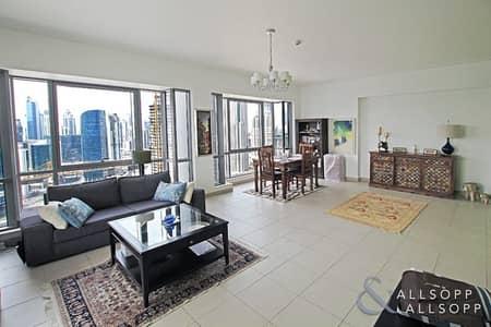 شقة 2 غرفة نوم للبيع في وسط مدينة دبي، دبي - Vacant on Transfer | Two Beds | 1491 Sq Ft