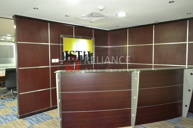 1 Amazing Furnished Office | Near Metro | Fortune Tower