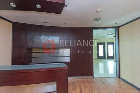 Office for Sale in Jumeirah Lake Towers (JLT), Dubai - Vacant Office Near Metro | Partitions | Fortune Tower