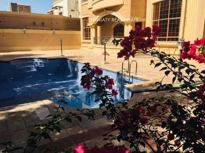 6 Bedroom Villa for Rent in Al Barsha, Dubai - Elegant and massive 6BR villa with pool- View now!