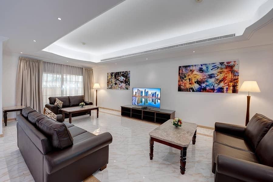 J5 Signatured Villas Luxury fully furnished serviced 4 Bedroom villa Dewa Included