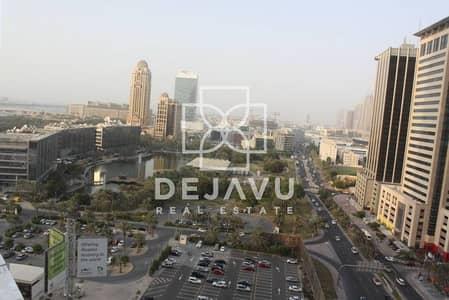 3 Bedroom Apartment for Sale in Dubai Marina, Dubai - Golf Course and Media city view on the Mid floor