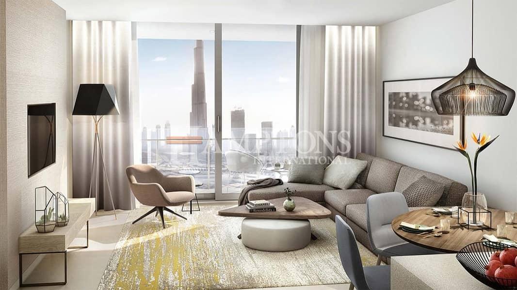 Full View   Luxury 1BR   High Floor