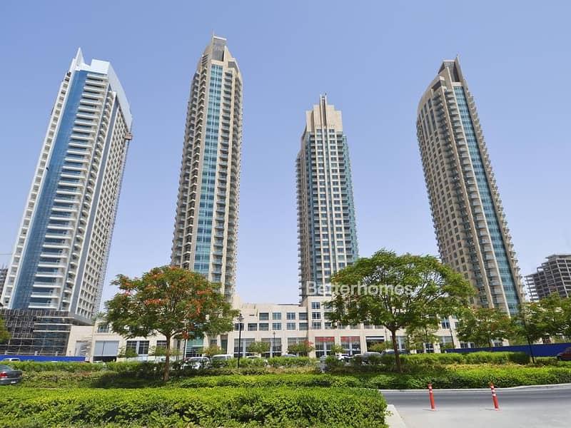 16 1 BR Furnished |Burj Views A| High Floor