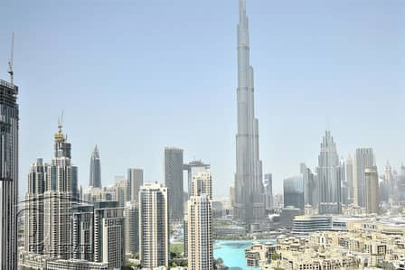 2 Bedroom Apartment for Rent in Downtown Dubai, Dubai - Incredible Price | Vacant| Stunning Khalifa View