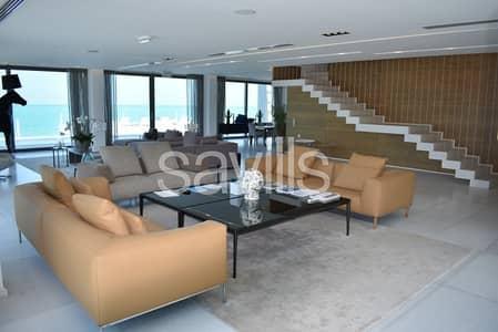 4 Bedroom Villa for Sale in Nurai Island, Abu Dhabi - Ocean views from every room. Luxury living in Abu Dhabi