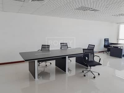 Spacious Fitted Office in Jumeirah Bay X2