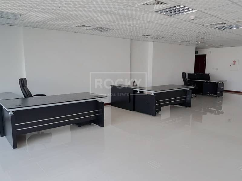 2 Spacious Fitted Office in Jumeirah Bay X2