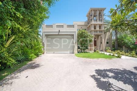 فیلا 4 غرفة نوم للبيع في جزر جميرا، دبي - Oasis Cluster Style | Entertainment Foyer