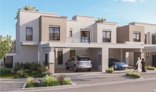 4 Bedroom Townhouse for Sale in Town Square, Dubai - Only 5% downpayment | Gated community | Modern Living