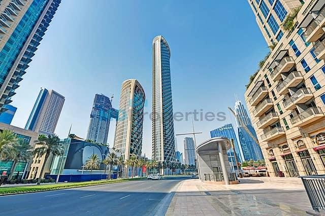 10 High Floor Full Fountain View Burj Vista T1