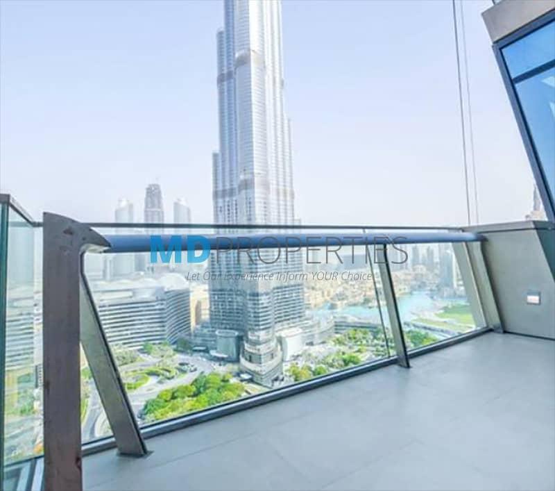 2 High Floor Full Fountain View Burj Vista T1