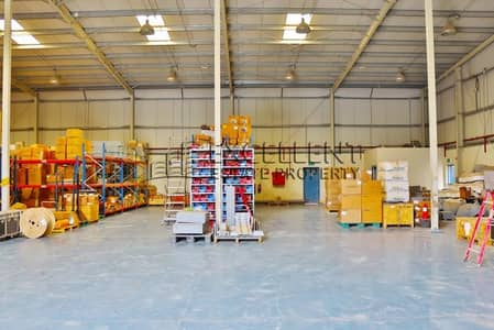 Warehouse for Rent in Mussafah, Abu Dhabi - Warehouses and Offices for Lease Now! VAT Inclusive