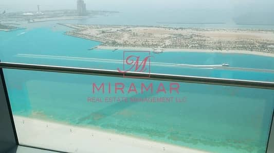 4 Bedroom Flat for Rent in Corniche Road, Abu Dhabi - BEACH FRONT BALCONY LARGE UNIT SEA VIEW