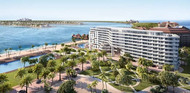 1 Bedroom Flat for Sale in Palm Jumeirah, Dubai - 1Bedroom With Full Sea View 70% on handover