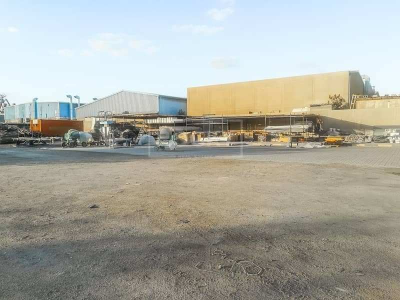 2 Commercial Plot with Big Storage | Industrial Purpose | Al Quoz 3