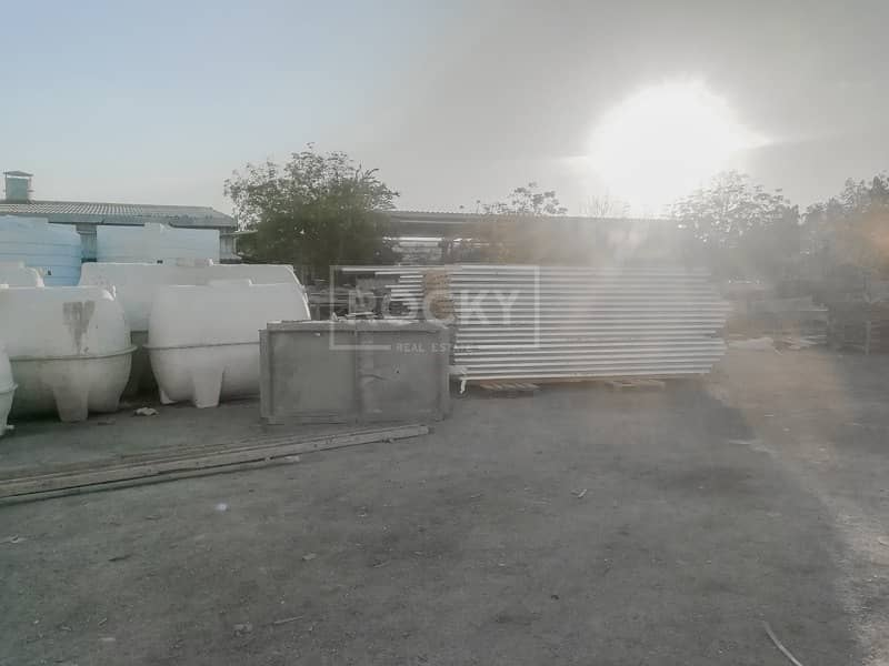 14 Commercial Plot with Big Storage | Industrial Purpose | Al Quoz 3