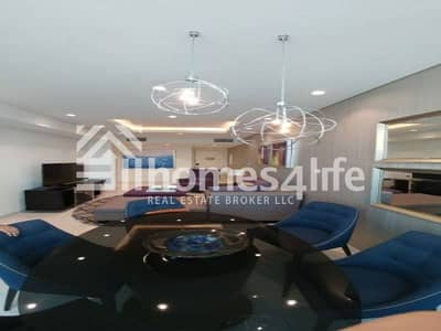 Gorgeous 3 BR Available in Damac Distinction for Rent with Full Burj Khalifa view