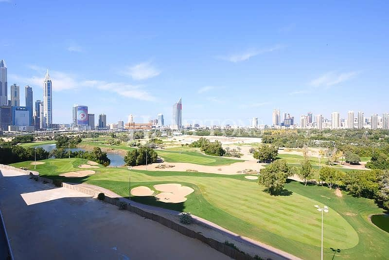 10 2BR in Hills | Full Golf Course View